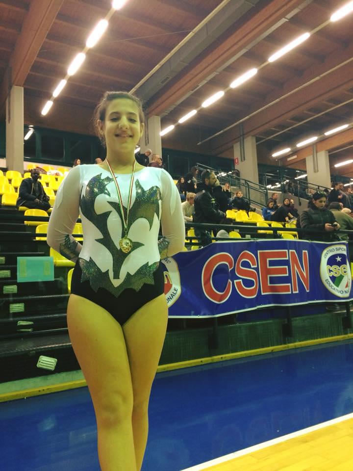Le ginnaste della categoria Junior B della Minnie Gym al Cup