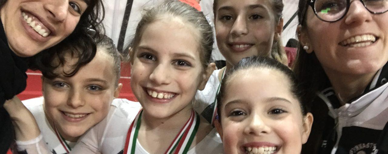 Risultati Campionati Silver LA e LB Minnie Gym