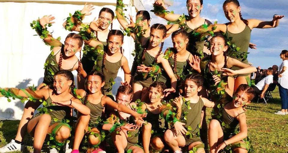 La Minnie gym è Campionato italiano di coreografia e Internationalgym